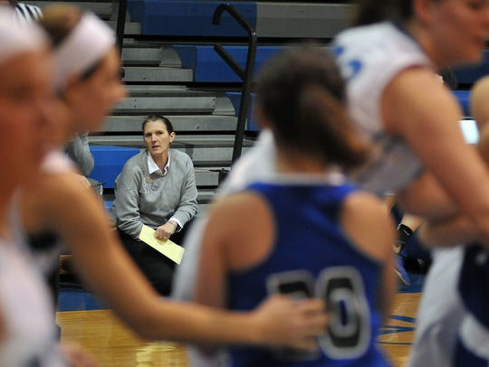 Amy Taylor-Sheldon is the longest tenured basketball coach in the area entering year 22.