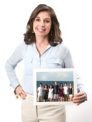 Katherine Montgomery from Ridgewood, NJ.On Friday, Mar. 17, 2017 five local mothers of five gather to have the individual and group photos taken for the May'17 issue of (201) Magazine. Hair and make-up by Adora Bella Salon, Franklin Lakes.