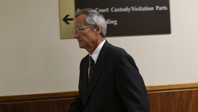 Robert Wiesner did not stop to respond to reporters' questions after he pleaded guilty Tuesday morning in state Supreme Court to committing an antitrust crime in connection with a major public corruption scandal.
