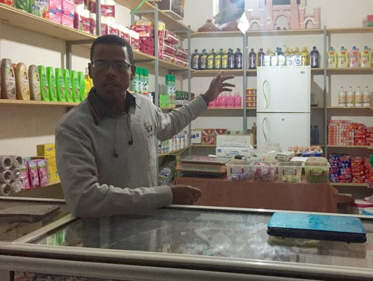 Sayid Abdeljahil, a young local shopkeeper, was a leader