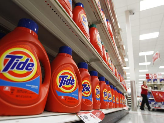 Procter & Gamble is the maker of Tide detergent and