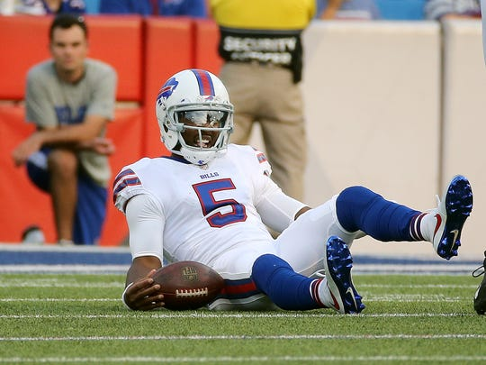 Bills quarterback Tyrod Taylor has been cleared to play Sunday.