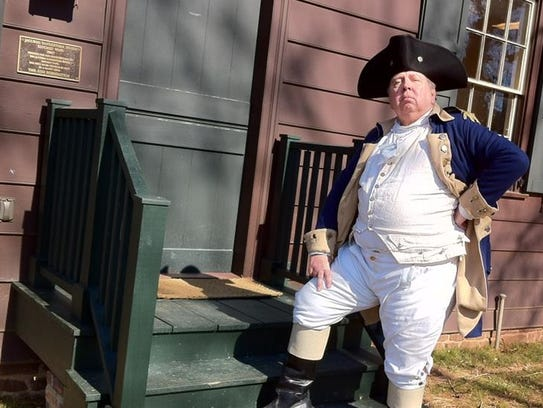 Bob Heffner  of Philadelphia  as General Henry Knox.