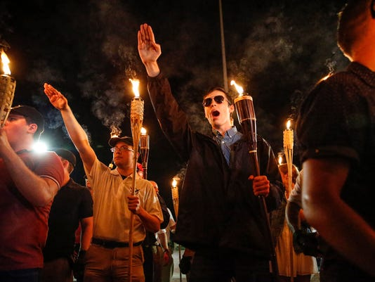 White Nationalist rally Charlottesville, VA