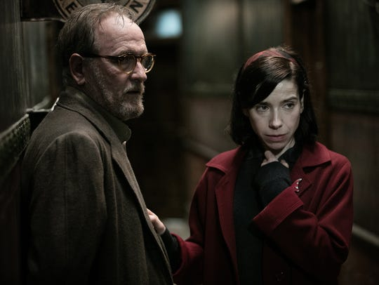 Richard Jenkins and Sally Hawkins have a moment in