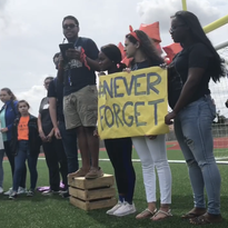 Hundreds in Corpus Christi participate in National School Walkout