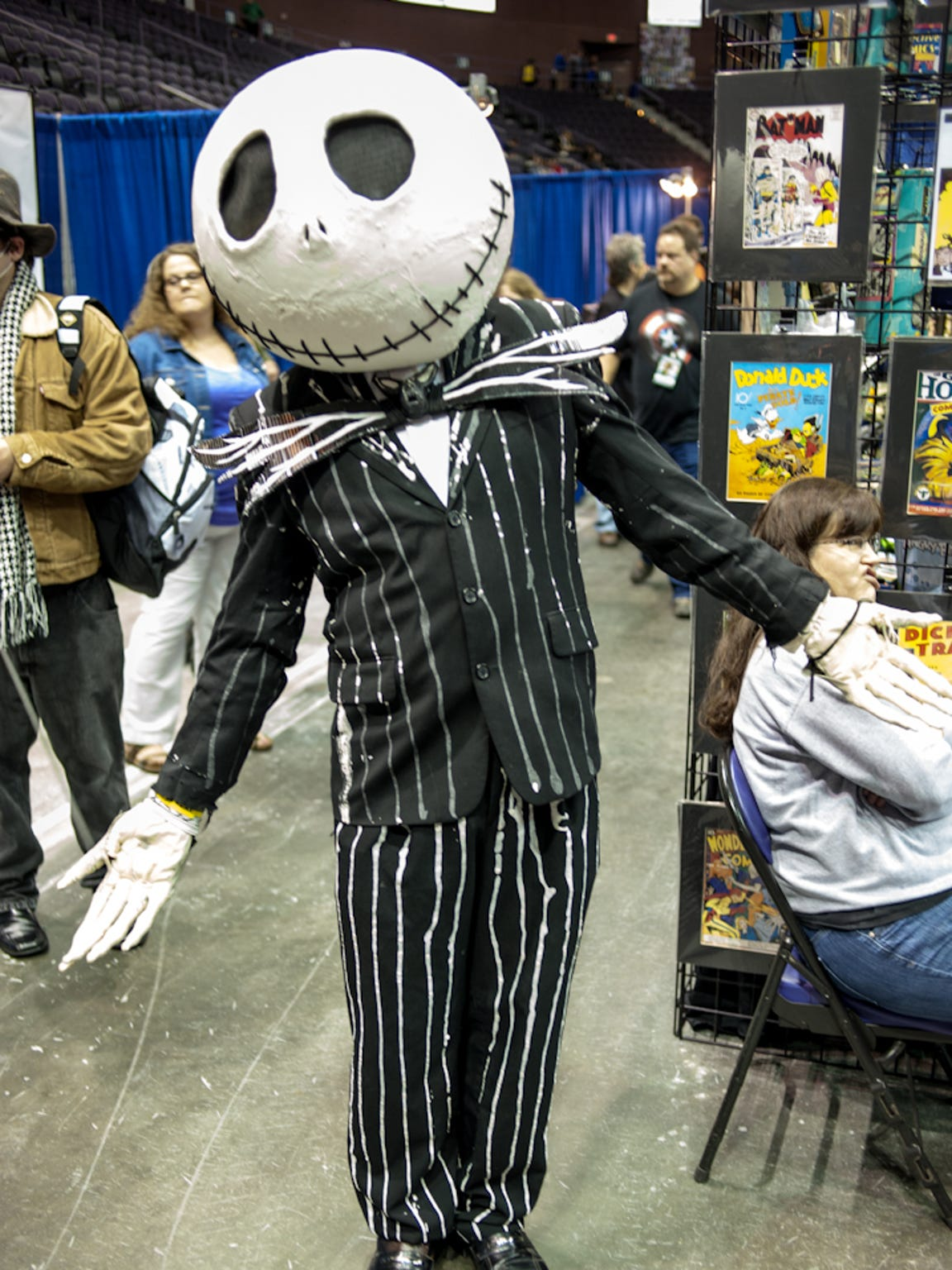 Fans came out on the last day of Pensacon to meet Celebs,