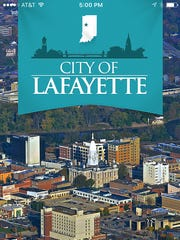 The city of Lafayette on Tuesday launched its mobile