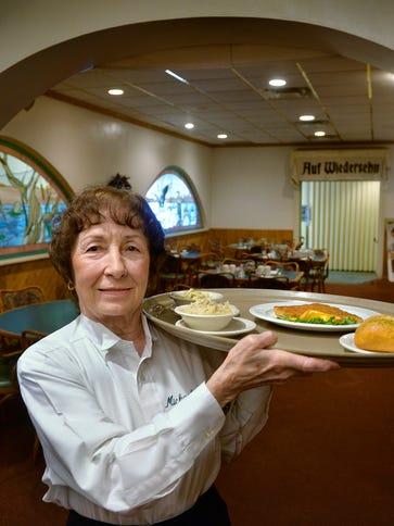 At 81, Michael's restaurant server Clara Riley has