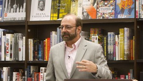 Paul D'Ambrosio hosts Writers' Block at Barnes and Noble.