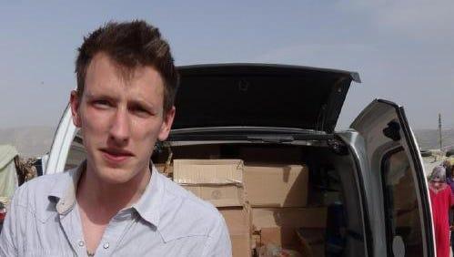 Aid worker Peter Kassig