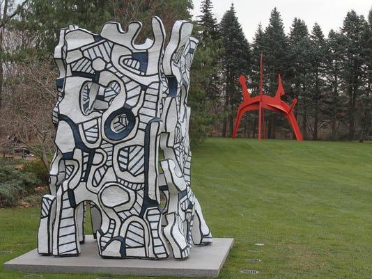 Jean Dubuffet at PepsiCo sculpture garden