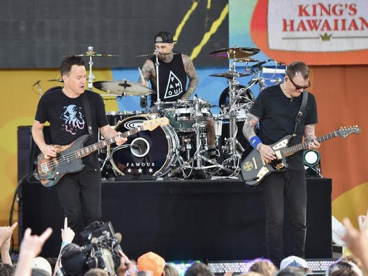 "Blink 182 Performs On ABC's ""Good Morning America"""