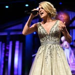 Carrie Underwood will end 2015 with approximately 1 million music fans in New York.