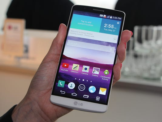 First Look: LG G3 smartphone hopes speed will sell