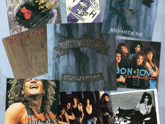Bon Jovi 'New Jersey' montage