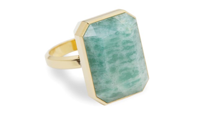 RINGLY's High Tide smart ring with Amazonite, $165.