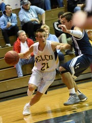 Junior guard Evan Huey is part of a strong core group
