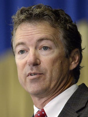 Sen. Rand Paul, R-Ky., promoted his economic plan in Detroit on Aug. 22, 2013.