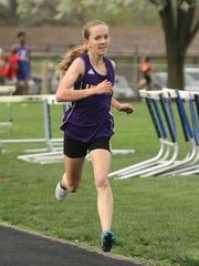 Lexington freshman Joanna Halfhill is one of the top