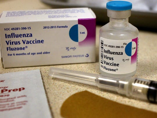 The influenza-virus vaccine will be available at the Rutherford County Health Department beginning Sept. 17.
