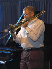 Trombonist and CCM professor Marc Fields plays at the Blue Wisp.
