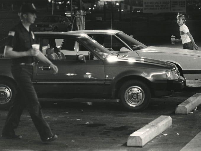 Cruising on Kearney Street in August of 1986.