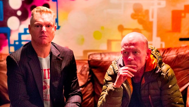 Andy Bell, left, and Vince Clark of Erasure.