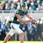 Couch: Jake Hartbarger is booming and pinpointing punts after help from a familiar Spartan