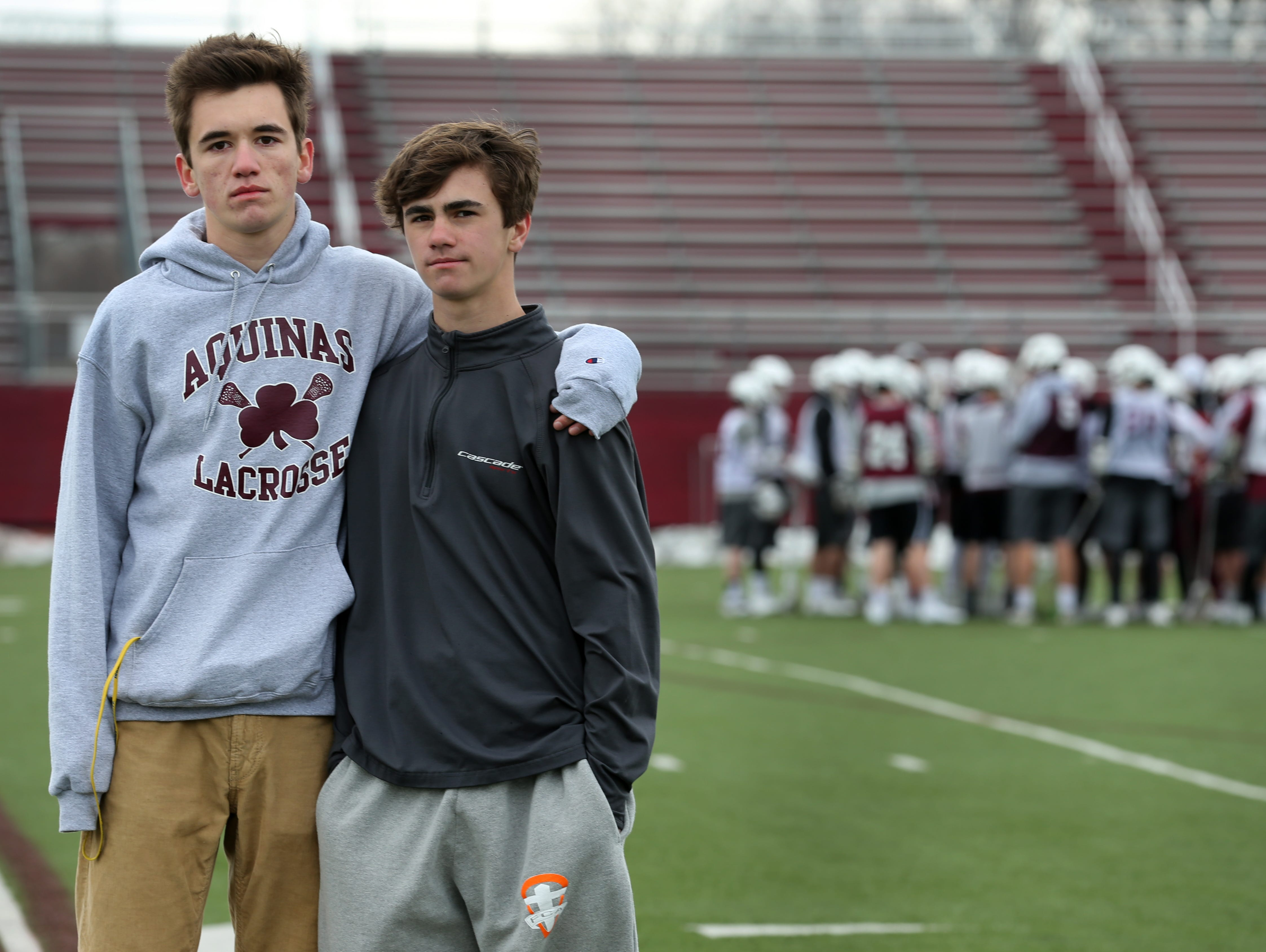 Bryce and Evan Kelly are illegal players, deemed ineligible to compete with their schools lacrosse team for a year because they failed to prove that they were harassed and bullied enough to Section V.