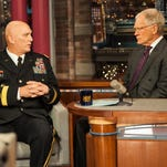 Adm. Mike Mullen recounted his early career missteps with Letterman in 2011.