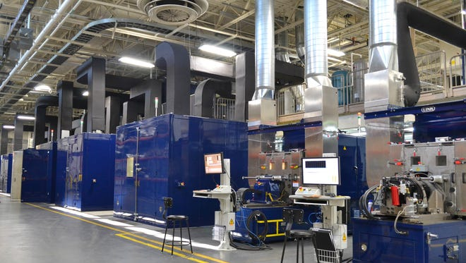 The Dynamometer Lab at Link Engineering in Dearborn.