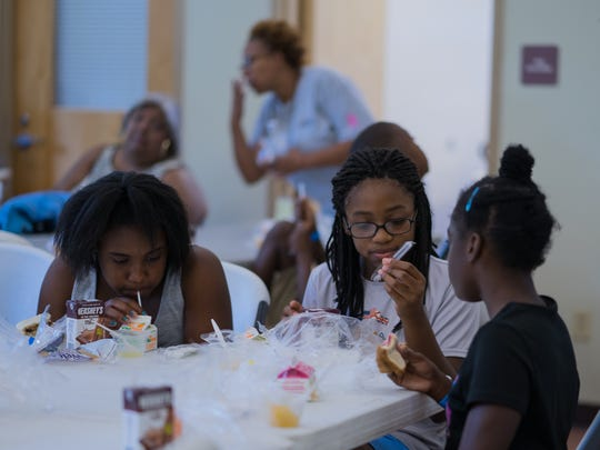 Kids at the Escambia County Play, Learn, Grow Summer
