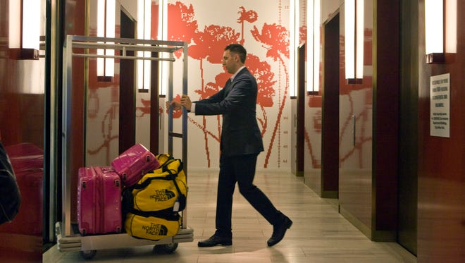 Some hotels are charging extra fees to store luggage for guests who have checked out. The hotel industry is poised to collect a record $2 billion in fees this year, according to a new NYU study.