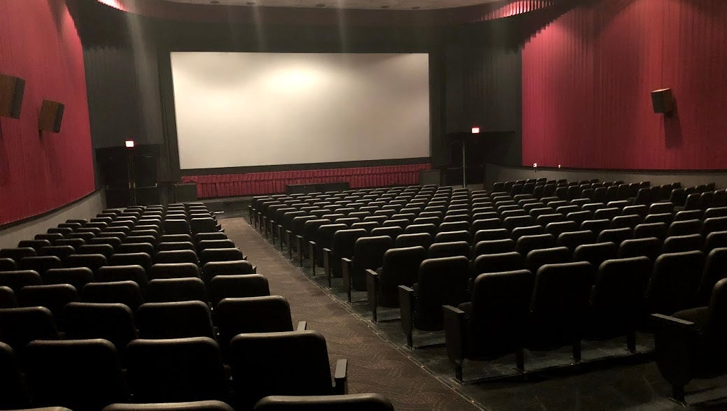 Mall Movie Theater Revitalized  Opens To The Public