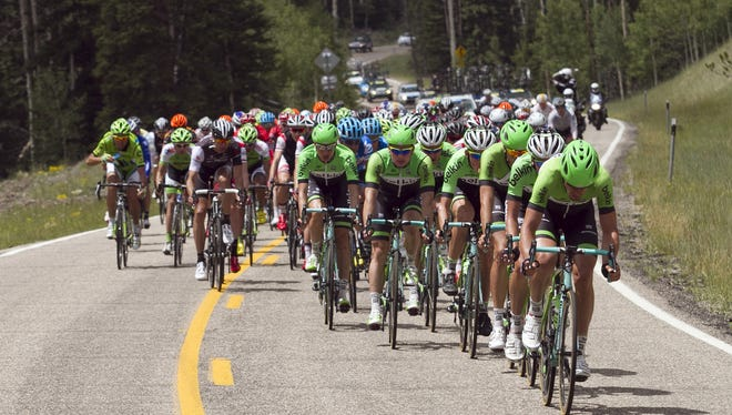 Tour of Utah race took place in Cedar City on August 4, 2014. Cedar City was named the host of the stage one finish line of the week-long event this year. The professional cycling race will take place Aug. 1-7 in 13 cities throughout the state.