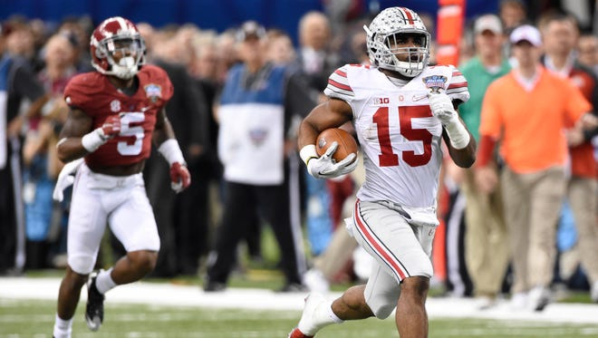 Running back Ezekiel Elliott is just one of the major offensive weapons for No. 1 Ohio State.