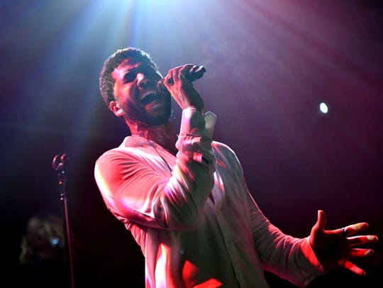 Singer Jussie Smollett performed onstage at Troubadour in West Hollywood a few days after he was reportedly attacked in Chicago.