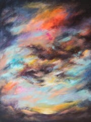 """Stormy Sunset"" by Sasha Coleman Arnett"