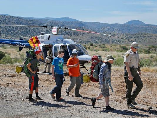 Boy Scout rescue