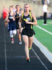 Colonel Crawford's Chad Johnson wins the boys 3200