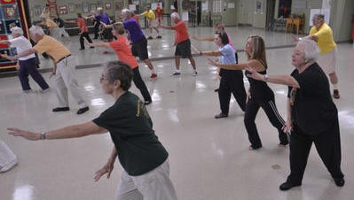 A class at Taoist Tai Chi Center in Montgomery, Ala..