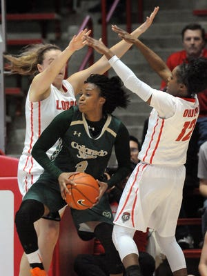 The CSU women's basketball team lost 67-40 to New Mexico at The Pit last year. The Rams hope for payback Wednesday.