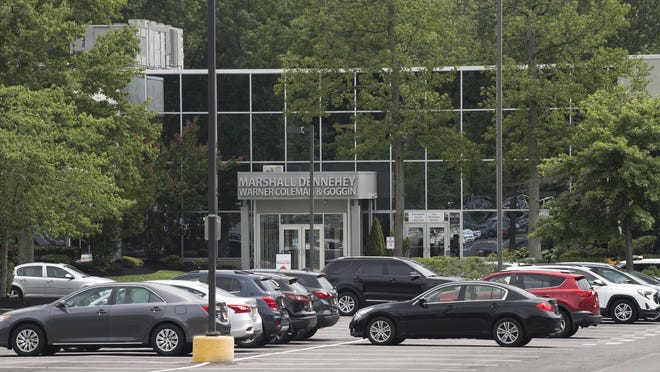 Two people were shot at a Mount Laurel doctor's office in this complex on Friday.