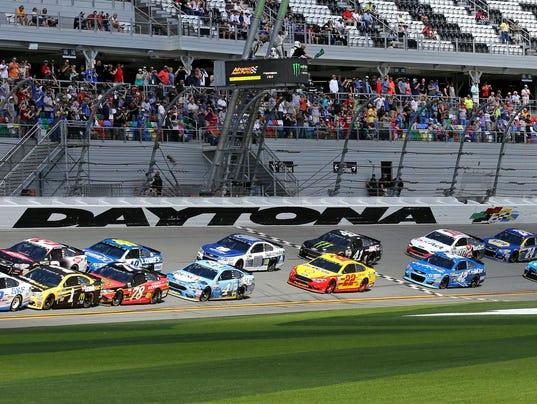AP NASCAR DAYTONA CLASH AUTO RACING S CAR USA FL