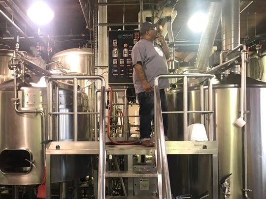 Kevin Blodger, co-founder & director of brewing operations