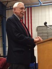 World War II veteran and author Eugene Schulz shares