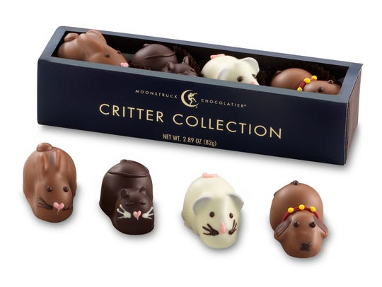 Pictured is the Critter Truffle Collection from the