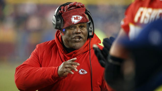 Eric Bieniemy has also interviewed for the Cleveland Browns' head coach opening.