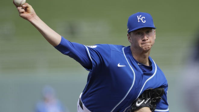 Kansas City Royals pitcher Brady Singer was sensational in his major-league debut last weekend against Cleveland. Singer, who likely would have pitched in the minors most of the season, made the most of his chance when the Royals lost two starters to COVID-19, giving up three hits and two runs while striking out seven in a win over the Indians.